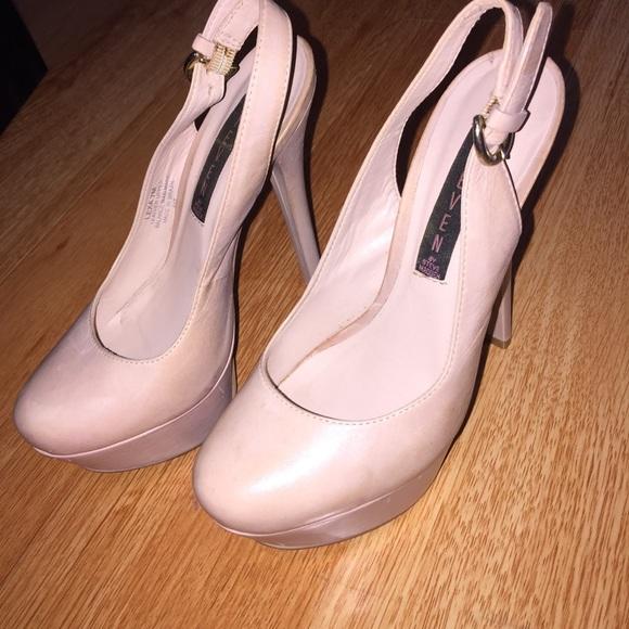 5811f06f72 Steven By Steve Madden Shoes | Steve Madden Closed Toe Heels Blush ...